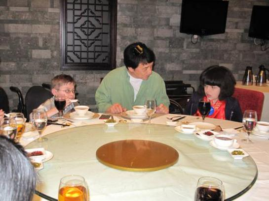 Jackie Chan Hosts Make-A-Wish Kids