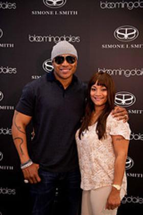 Simone I. Smith and husband LL Cool J