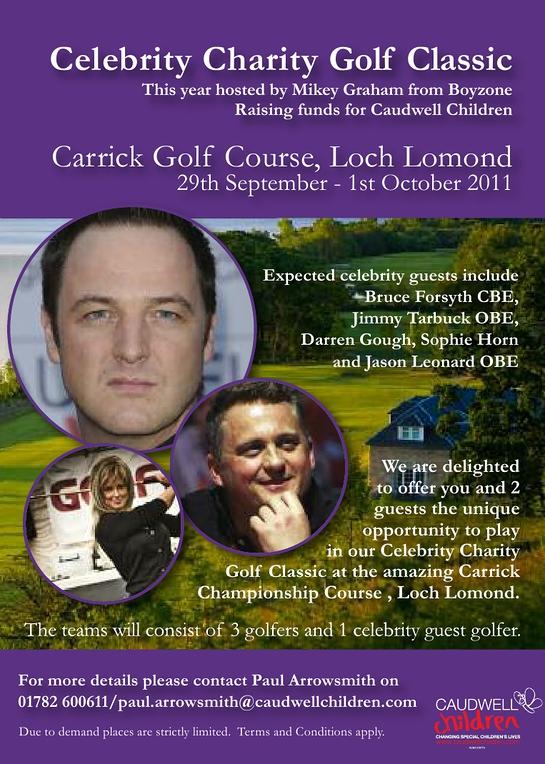 Caudwell Children Celebrity Golf