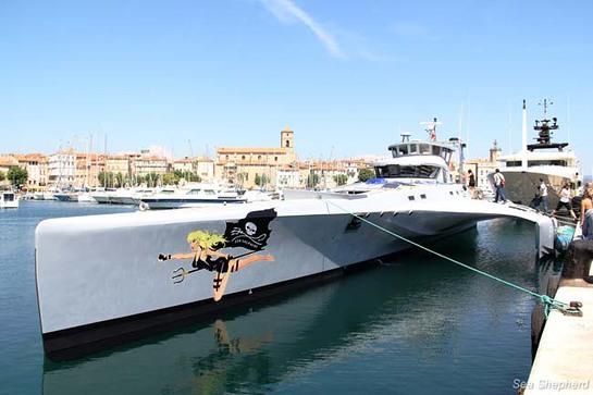 Sea Shepherds Reveal the Brigitte Bardot