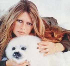 Brigitte Bardot and Seal