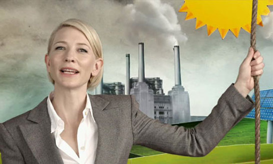 Cate Blanchett in Climate Change PSA