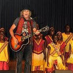 Big Kenny Joins African Children's Choir At Hospital Gig