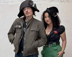 Adam Ant and Mich Dulce