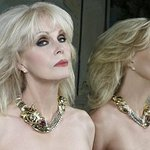 Joanna Lumley Models Necklace To Save Tigers