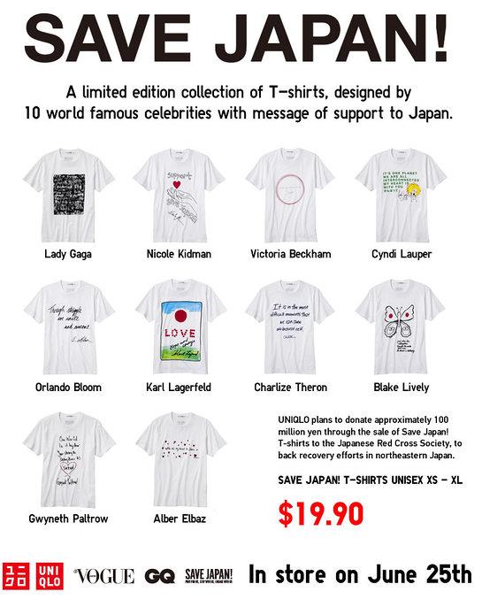 Save Japan T-Shirts