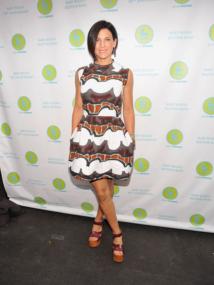 Baby Buggy founder Jessica Seinfeld at the Baby Buggy Bedtime Bash