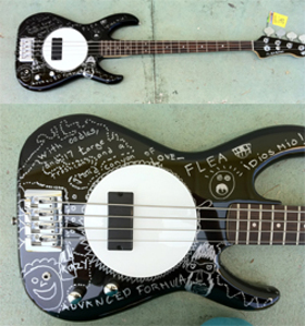 Flea Bass Charity Auction