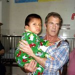 Photos: Mel Gibson Visits Sick Children In Guatemala