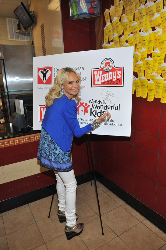 Kristin also signed a special message to celebrate the cause: Love for kids everywhere! Love, Kristin Chenoweth