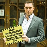 Mentalist Star Protests Against Animal Cruelty