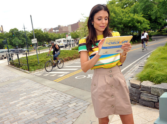 Photo: Bethenny Frankel checks-in her healthy habits at the launch of the Clorox and Children's Health Fund Check-in for Checkups program