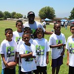 NFL's Jason David Hosts Camp For Kids