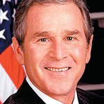 George W. Bush Welcomes Invictus Flag