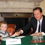 British Prime Minister Grants Wish To Sick Boy