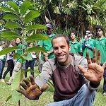 Jack Johnson Plants A Tree In Brazil