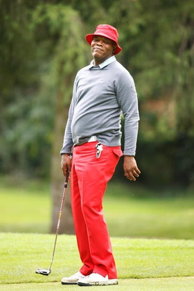 Samuel L Jackson Golf
