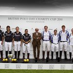 Prince Harry Plays Polo For Charity