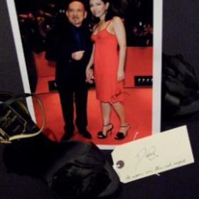 Signed photo - Ben and Daniela Kingsley