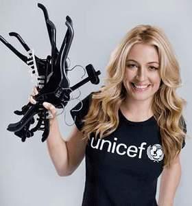 Cat Deeley M&S UNICEF Partnership