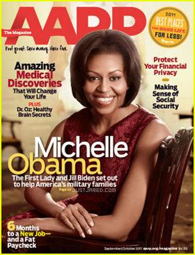 Michelle Obama AARP Magazine