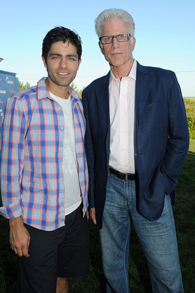 Adrian Grenier and Ted Danson at Oceana Event