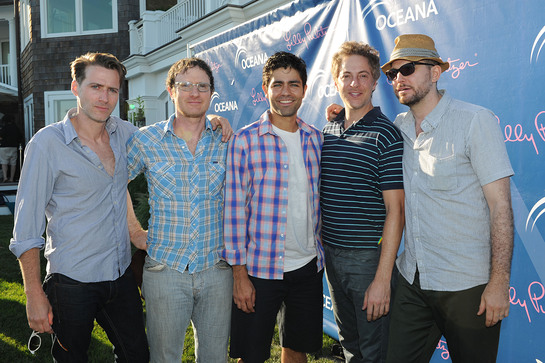 Adrian Grenier and the Honey Brothers