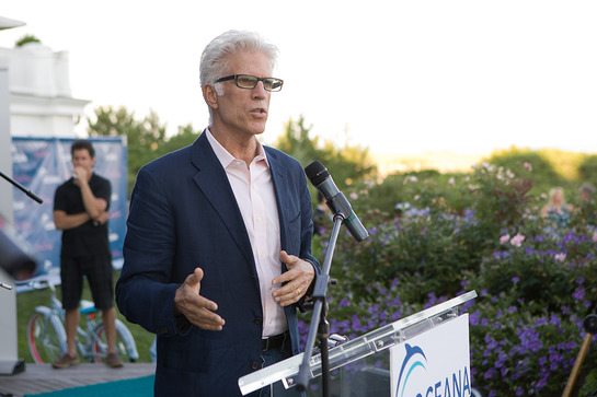 Ted Danson speaks about protecting oceans