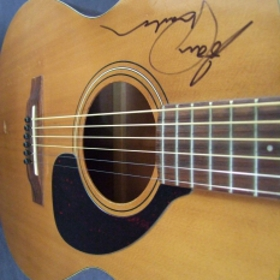 Joan Armatrading Signed Guitar