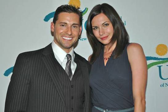 Photo: Timothy Mandala Co-Host & Jill Flint Star of Royal Pains