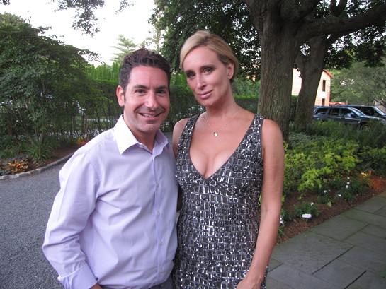 Todd Michael Krim and Sonja Morgan