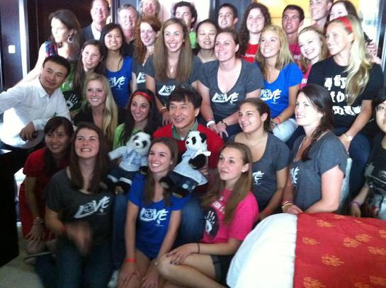 Jackie Chan with Operation Smile in Beijing