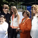 Michael Jackson's Kids Give Artworks To Children's Hospital