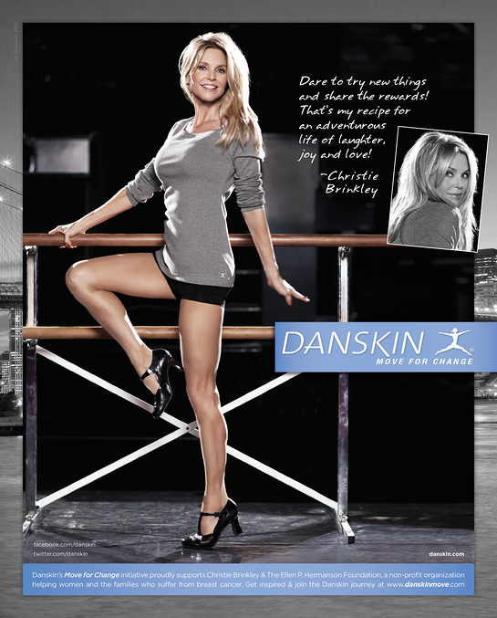 Christie Brinkley Move For Change