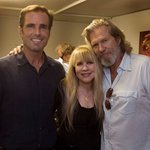Jeff Bridges And Stevie Nicks At Bob Woodruff's Charity Concert