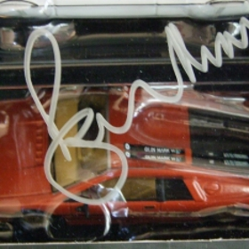 Photo: Roger Moore Signed Cars 3