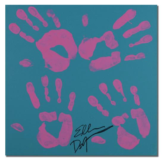 Ellen DeGeneres Handprint
