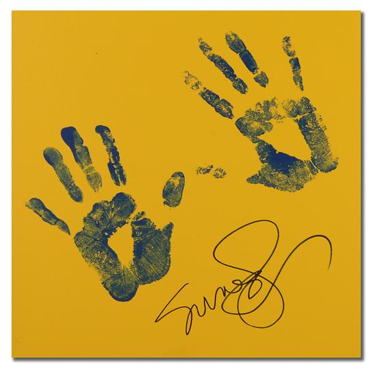 Susan Sarandon Handprint