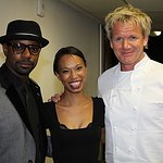 Gordon Ramsay's Hell's Kitchen Cooks For Celebrity Charity Guests