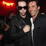Marilyn Manson Joins Celebrities At Charity Event