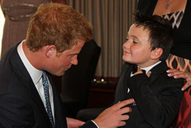 Prince Harry at WellChild Event