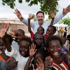 David Arquette in Senegal