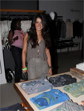 Shenae Grimes at Junk Food Charity Event