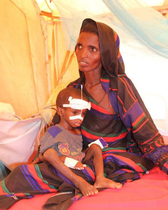 Dadaab Refugee Camp in Kenya