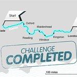 David Walliams Completes Thames Charity Swim