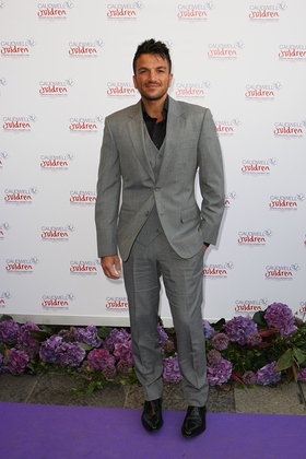 Peter Andre Purple Carpet