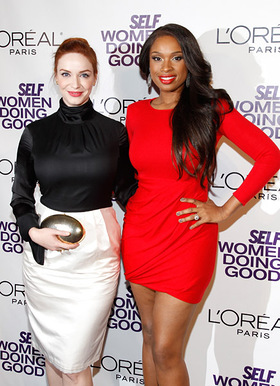 Christina Hendricks & Jennifer Hudson