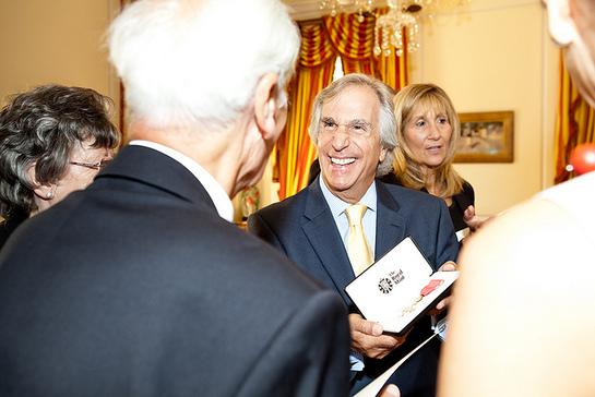 Henry Winkler OBE Ceremony