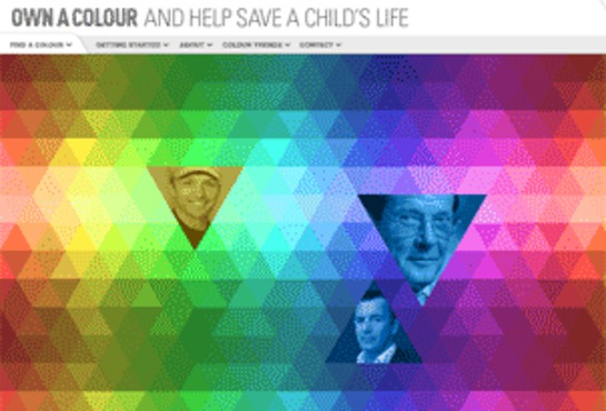 Own A Colour With UNICEF