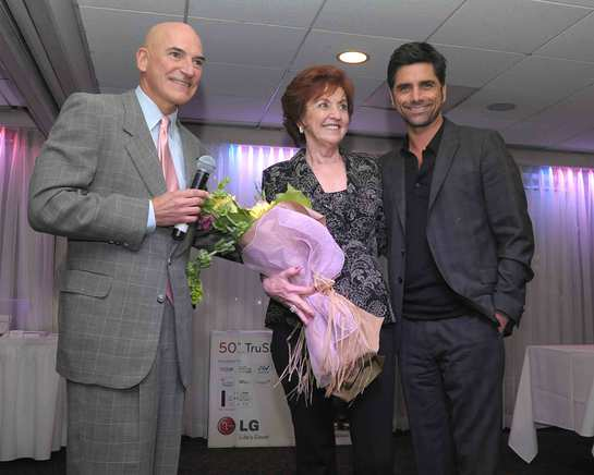 John Stamos at Cancer is Not Contagious but Laughter Is!